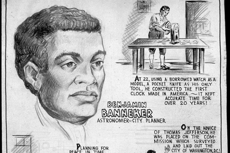 Drawings of Benjamin Banneker.