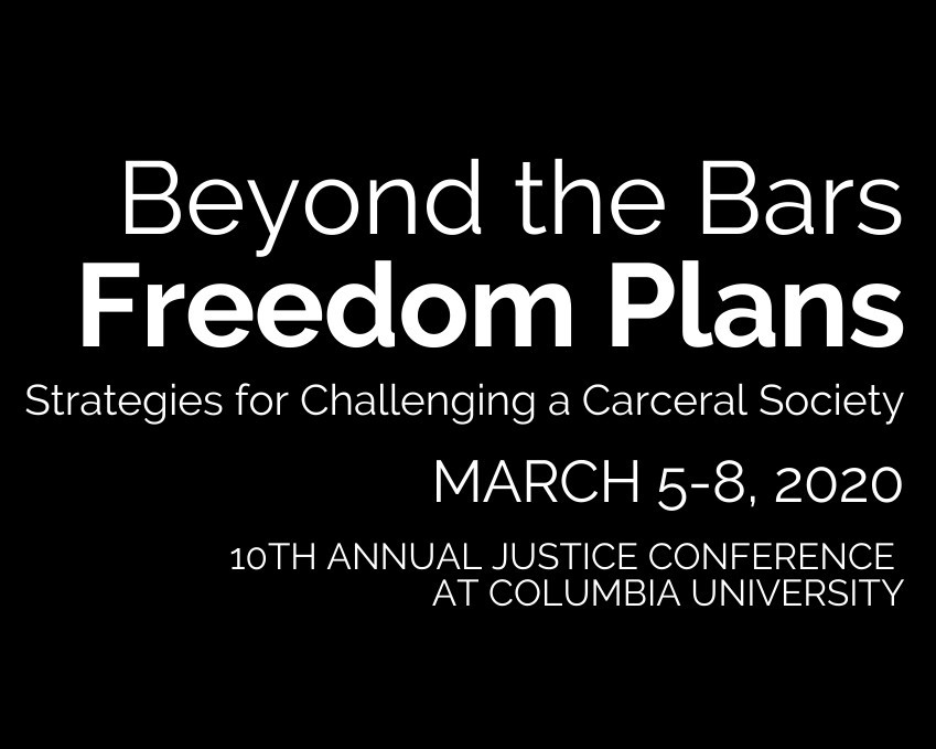Beyond the Bars: Freedom Plans conference information