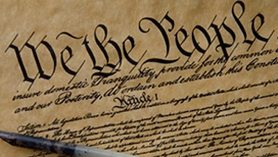 Copy of a written constitution