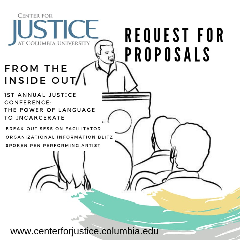 From the Inside Out: Request for Proposals flyer
