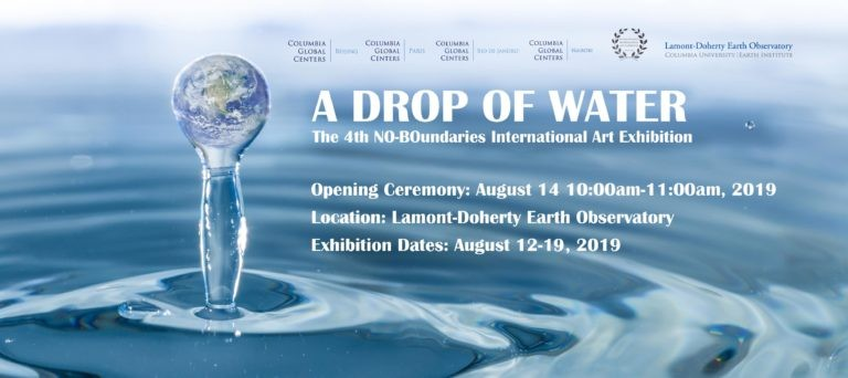 A Drop of Water: The 4th NO-BOundaries International Art Exhibition flyer